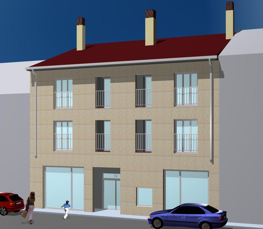 3D Edificio Navas