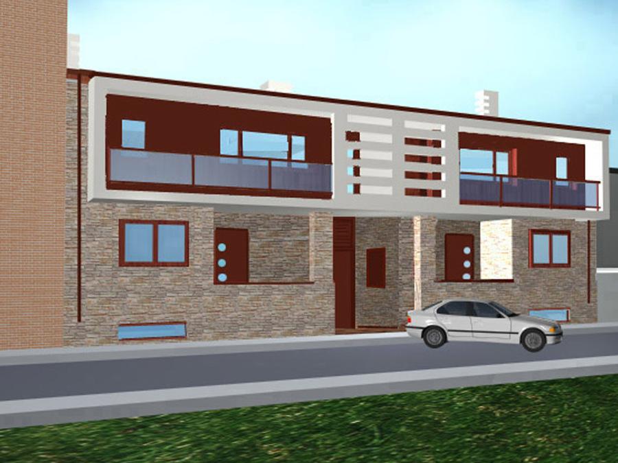 Proyecto construcci n y decoraci n de vivienda pareadas for Decoracion de viviendas