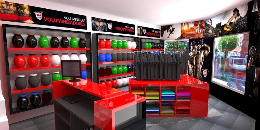 Tienda franquicia nutripro lugo ideas reformas locales for Disenos de tiendas de ropa modernas