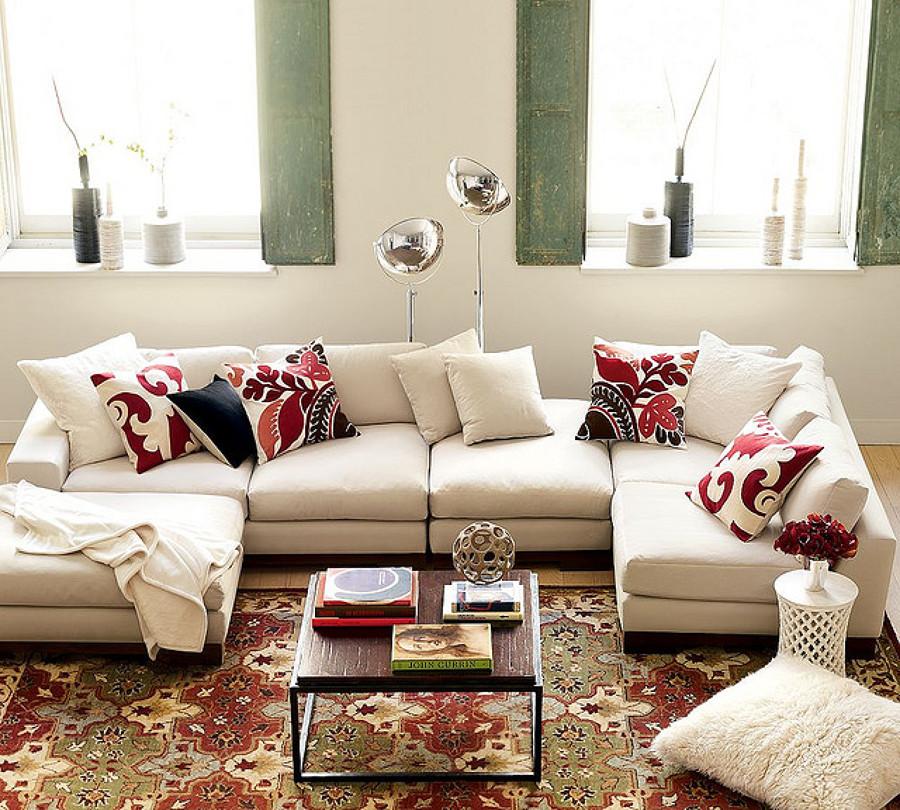 Cómo Organizar los Cojines del Sofá | Ideas Decoradores