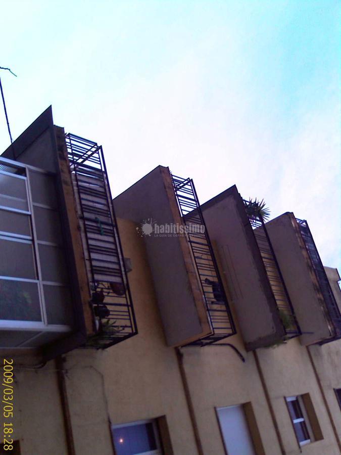 Reparación de balconeras en mal estado