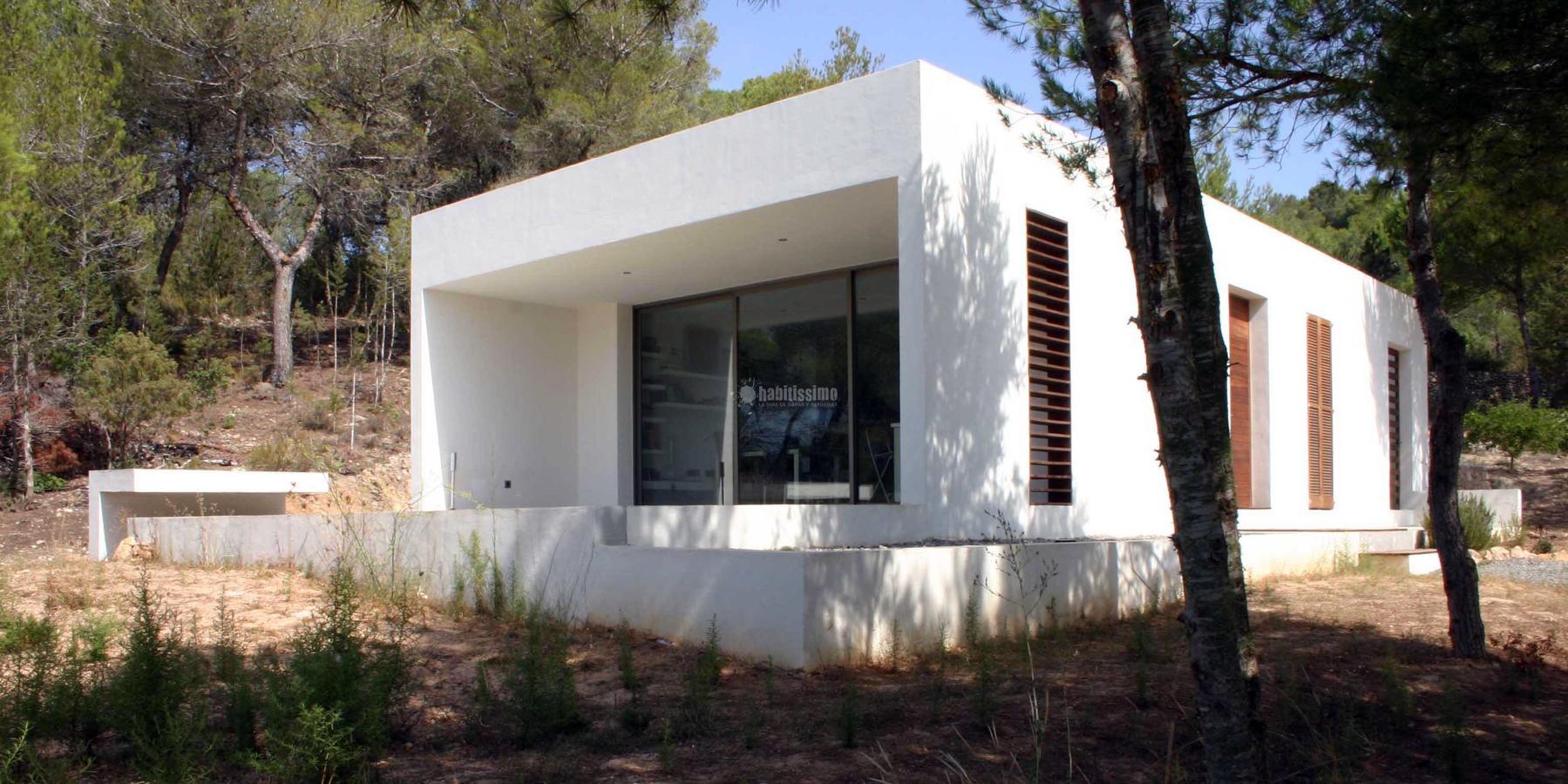 Vivienda unifamiliar en ibiza ideas arquitectos - Arquitectos en ibiza ...