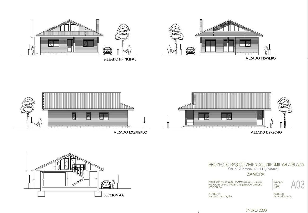 Proyecto casa unifamiliar acero presenta un proyecto de - Proyecto casa unifamiliar ...