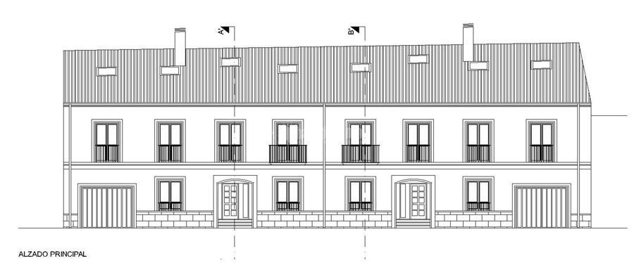 Proyecto De 2 Viviendas Unifamiliares Adosadas y Garajes