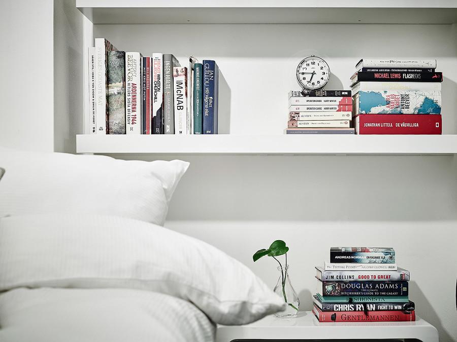 baldas con libros