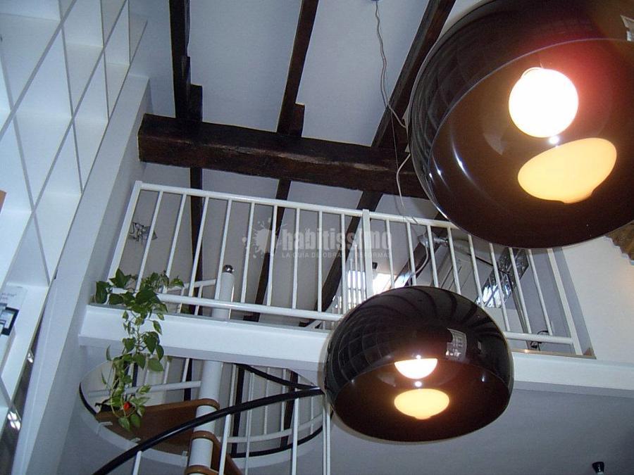 Decoración de ático en el Barrio del Carmen
