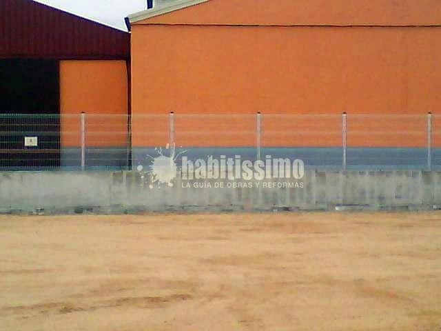 Cerramiento con paneles electrosoldado