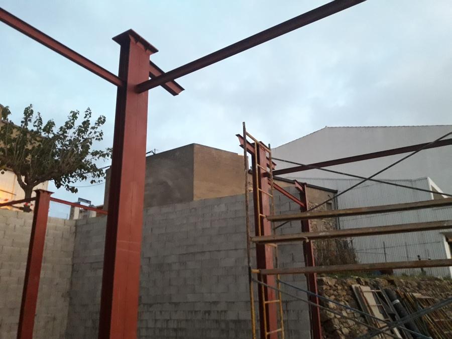 4ª Fase, todo preparado para la colocación de la casa modular