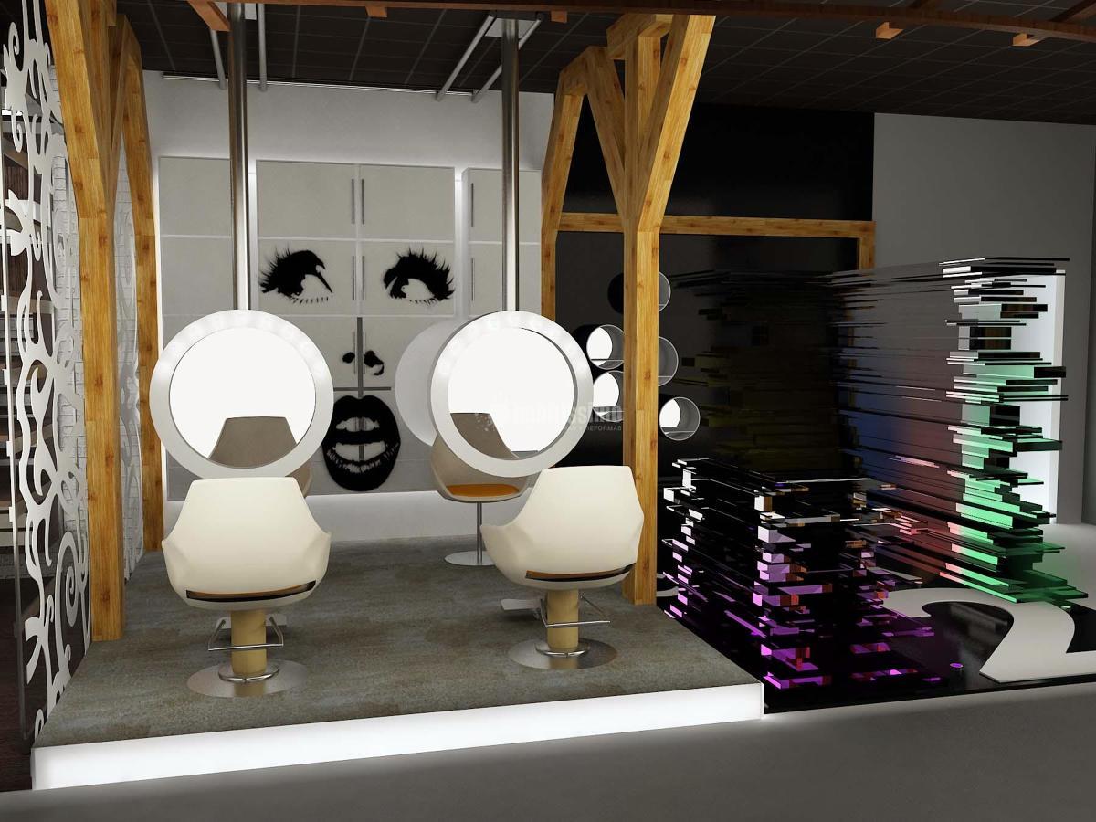 Peluqueria tienda de calzado 2 en 1 ideas reformas for Decoracion en peluquerias