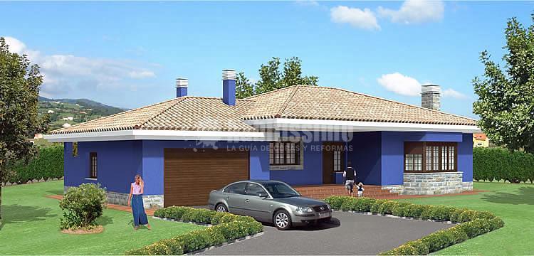 Chalet de 130m2 y 1335 m2 de parcela en tibi ideas construcci n casas - Precio m2 construccion chalet ...