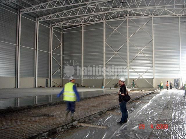 Construcción de nave silo