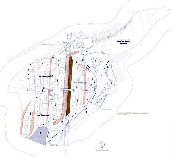 Proyecto de construcción de un camping en Puig-Reig