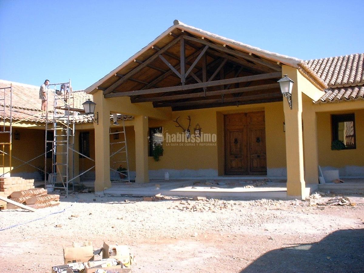 Foto rehabilitaci n casa de campo en ciudad real de casas de campo 100772 habitissimo - Rehabilitacion de casas ...