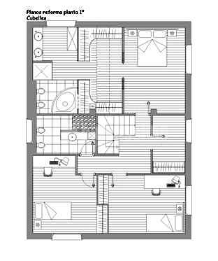Reforma integral 1º planta casa