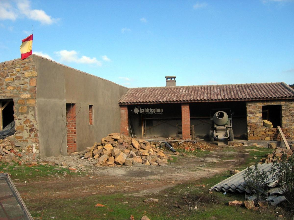 Rehabilitaci n casa de campo en toledo proyectos - Rehabilitacion de casas rurales ...