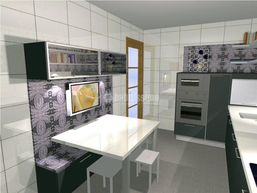 Proyecto refoma de cocina ideas muebles for Proyecto muebles de cocina