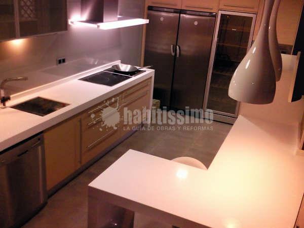 Montaje de nueva cocina y electrodomésticos