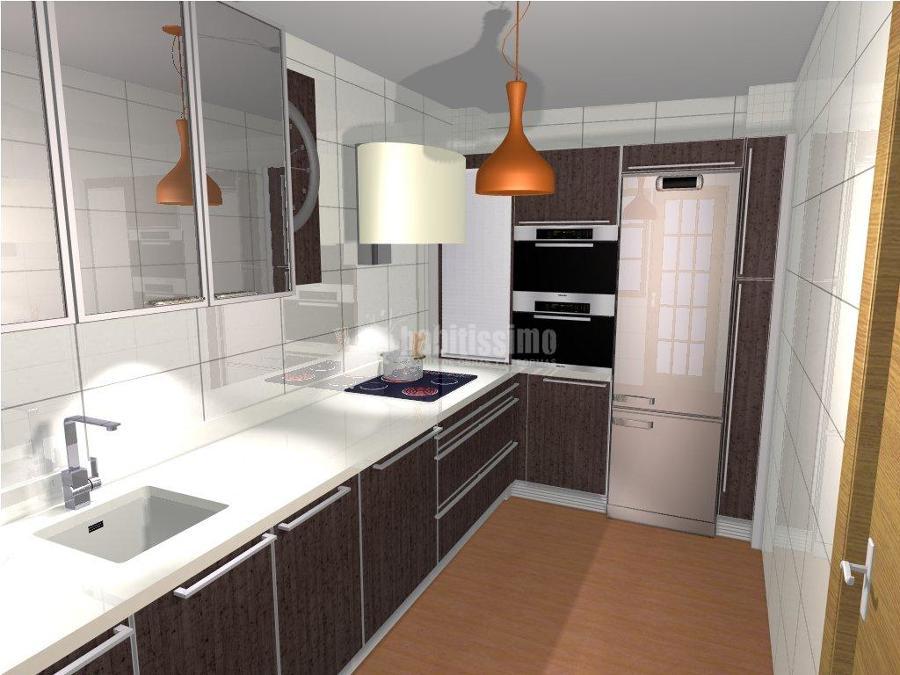 Dise o y proyecto real de cocina proyectos muebles for Proyectos de cocina easy