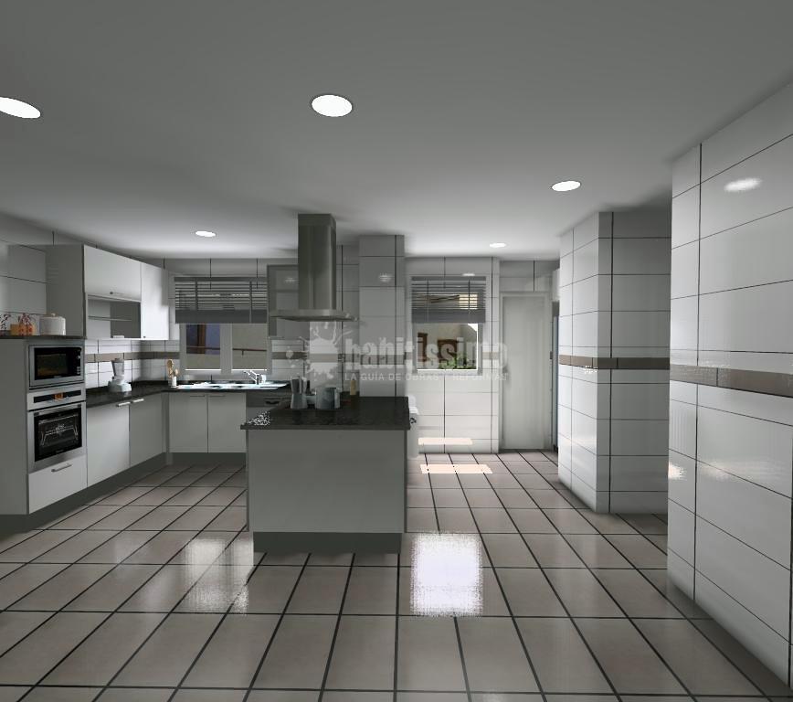 Proyecto de cocina comedor ideas muebles for Proyectos de cocina