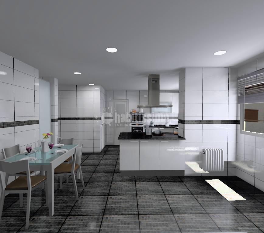 proyecto de cocina comedor ideas muebles