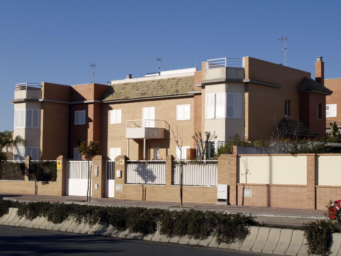 6 viviendas unifamiliares agrupadas ideas arquitectos - Fachadas viviendas unifamiliares ...