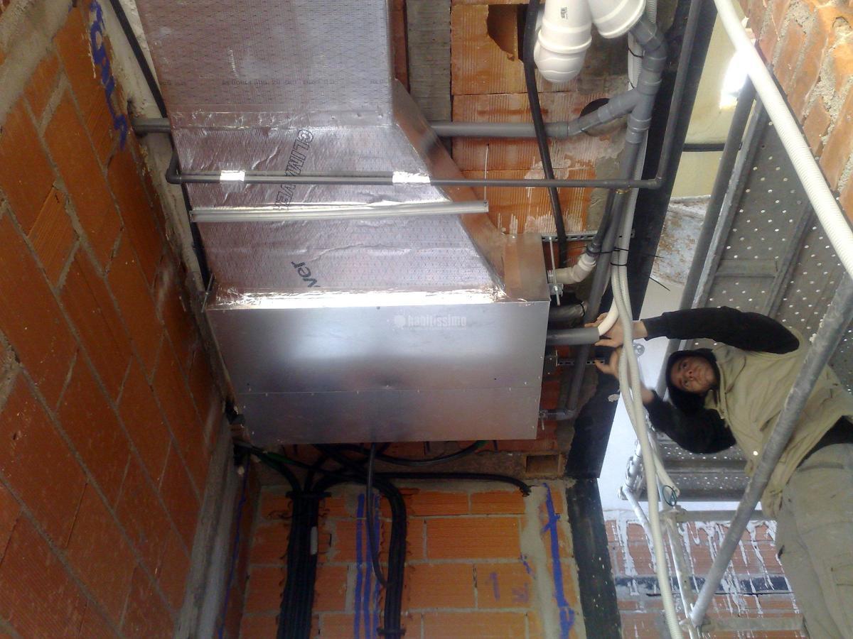 Climatización de vivienda unifamiliar en La Cabaña, Pozuelo