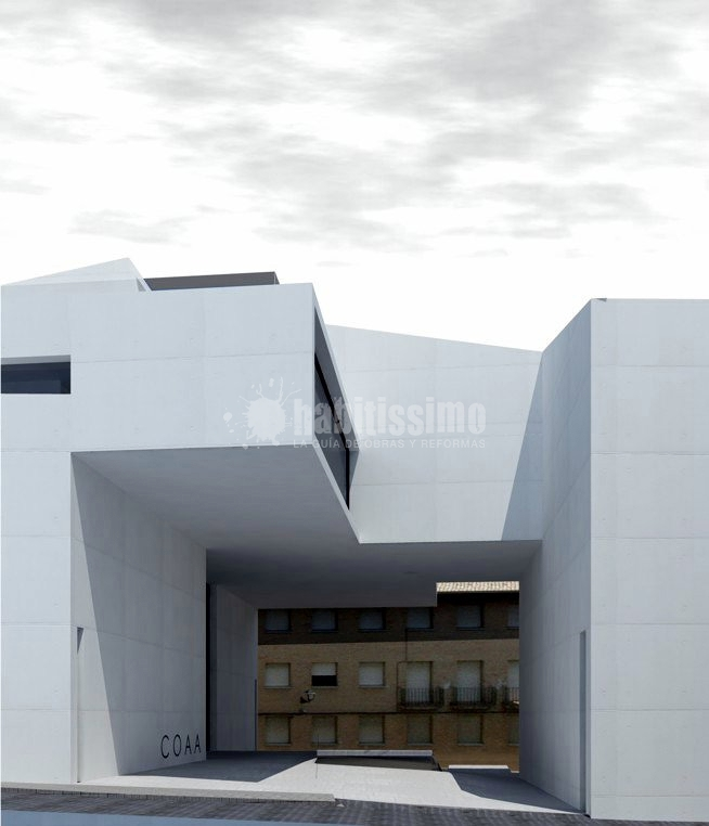 Foto colegio oficial de arquitectos de huesca de estella - Colegio de arquitectos cadiz ...