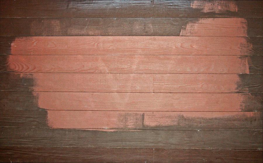 C mo pintar una pared de madera ideas reformas viviendas - Como pintar una pared ya pintada ...