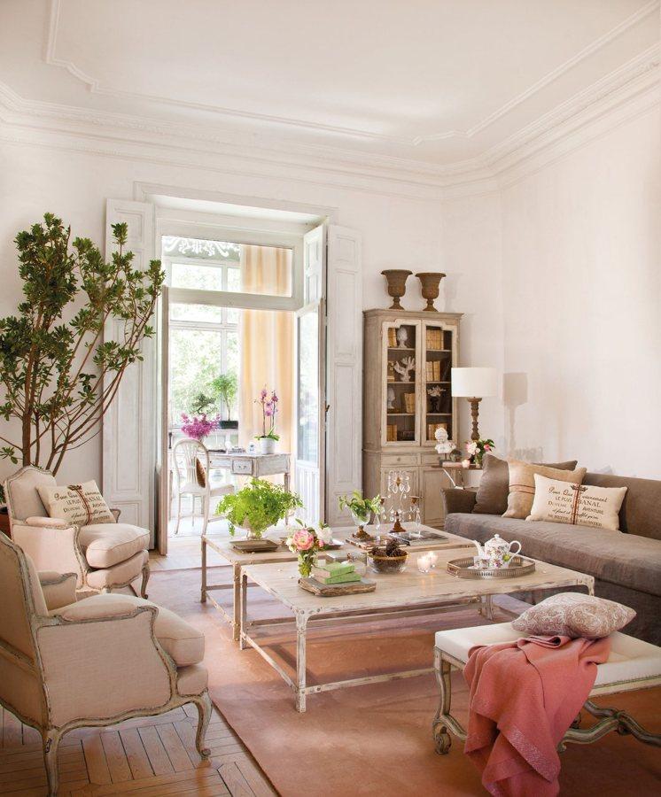 salón estilo provenzal