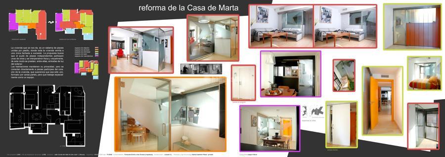 Reforma de la casa de Marta