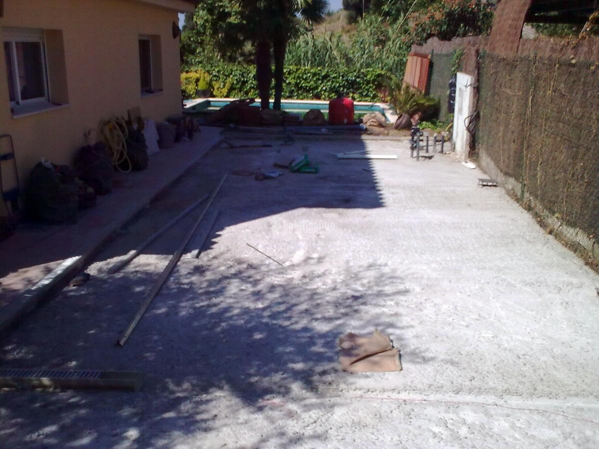 Pavimento jard n proyectos materiales construcci n - Pavimento jardin ...
