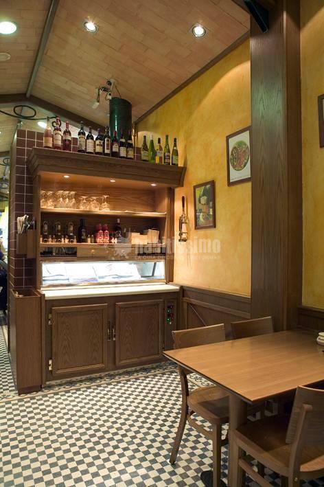 Rehabilitación integral de bar-restaurante Mesón Jamón