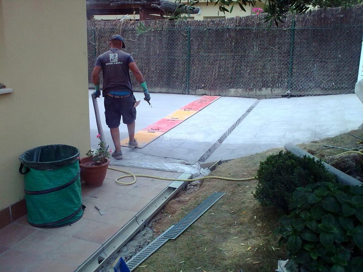 Foto pavimento jard n de coinfa 2013 s l 100928 habitissimo - Pavimento jardin ...