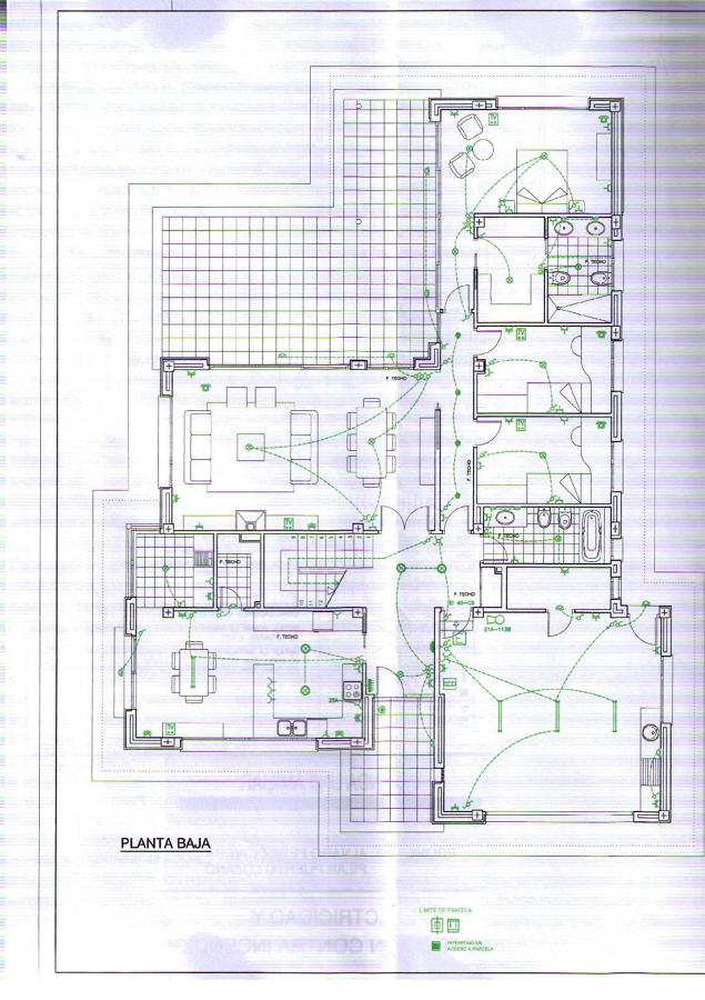 Instalaci n el ctrica de vivienda en castralvo teruel for Instalacion electrica jardin