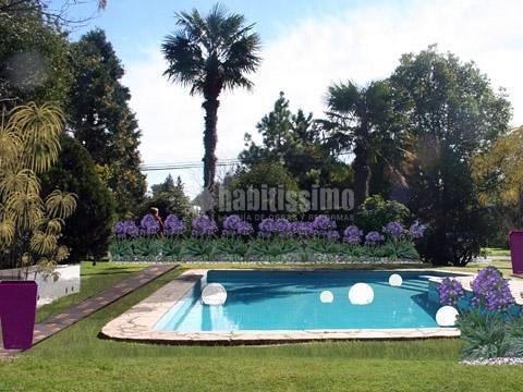 Dise o jard n privado ideas paisajistas - Diseno de jardines para casas de campo ...