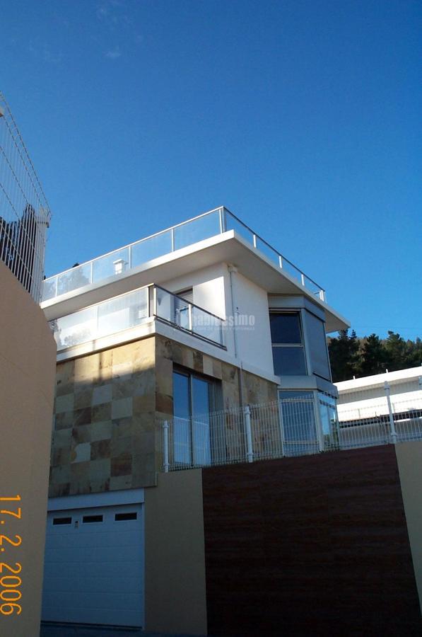Carpinter a exterior en chalet en laukariz ideas - Carpinteria exterior ...