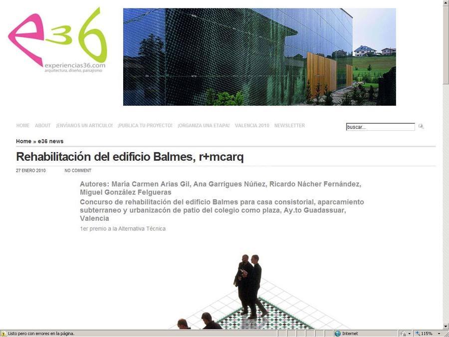 Concurso Ayuntamiento Guadassuar