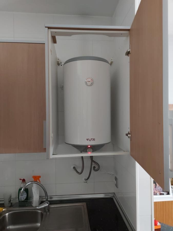 80 litros con instalation - 179 euro