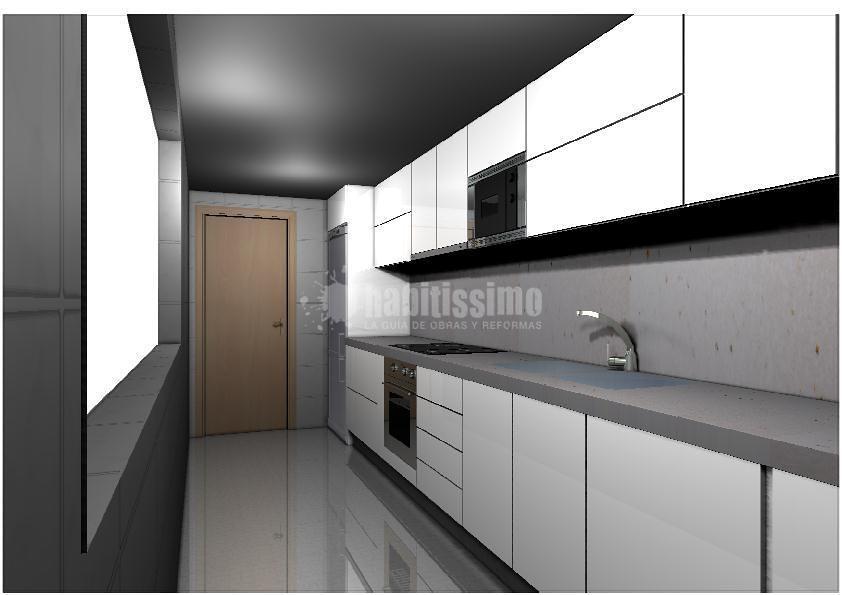 Proyecto de cocina ideas muebles for Proyecto muebles de cocina