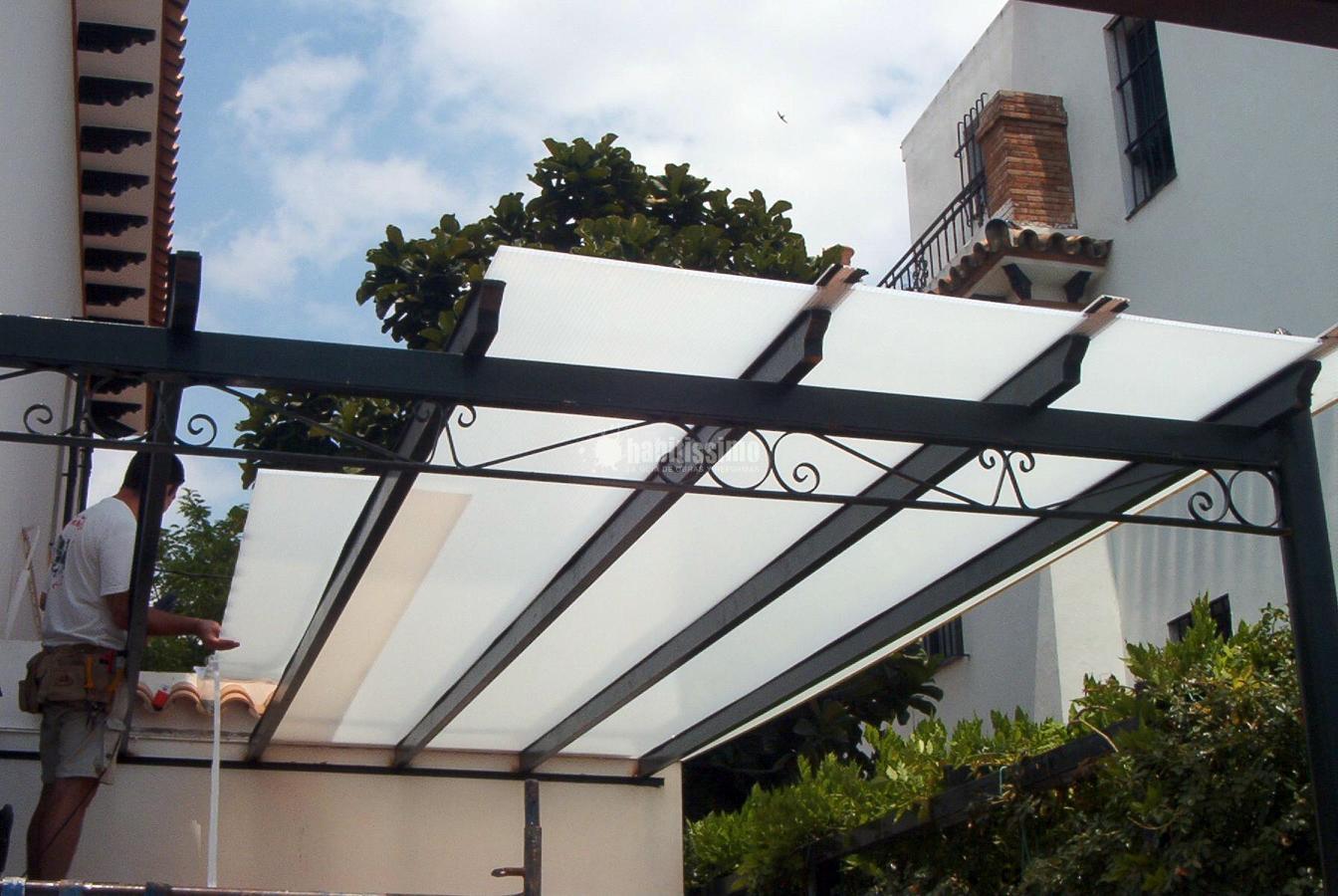 Cubierta de policarbonato en eliopolis sevilla ideas materiales construcci n - Materiales de construccion sevilla ...