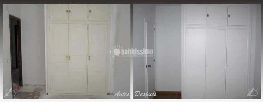Pintura, puertas y  molduras de escayola