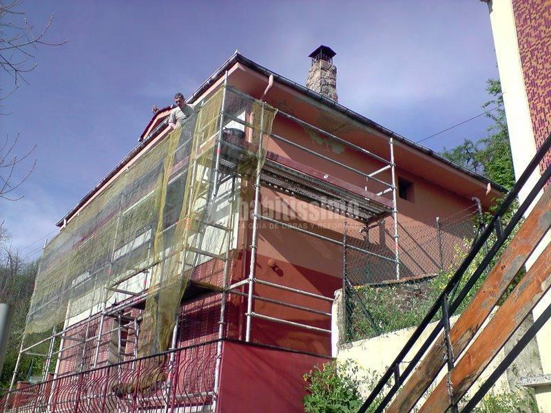 Rehabilitacion fachada y exteriores