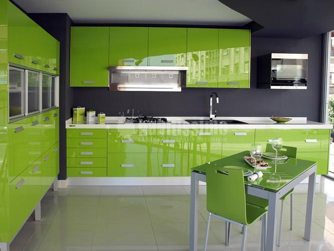 muebles de cocina yelarsan modelo look verde ideas muebles On muebles de cocina yelarsan