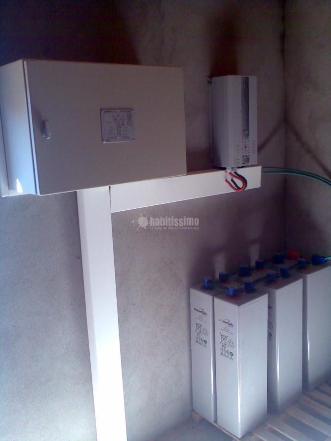 Instalación solar fotovoltaica autónoma