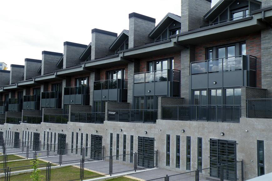 Foto 9 chalets adosados en gaztelondo bilbao 04 de agvar - Arquitectos en bilbao ...