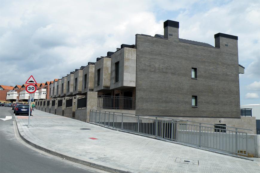 Foto 9 chalets adosados en gaztelondo bilbao 08 de agvar - Arquitectos en bilbao ...