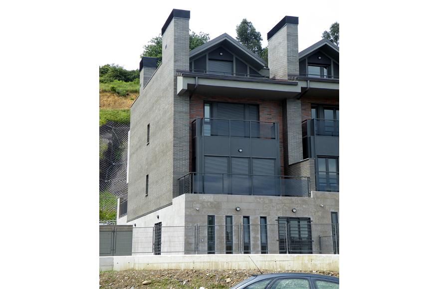 Foto 9 chalets adosados en gaztelondo bilbao 09 de agvar - Arquitectos en bilbao ...