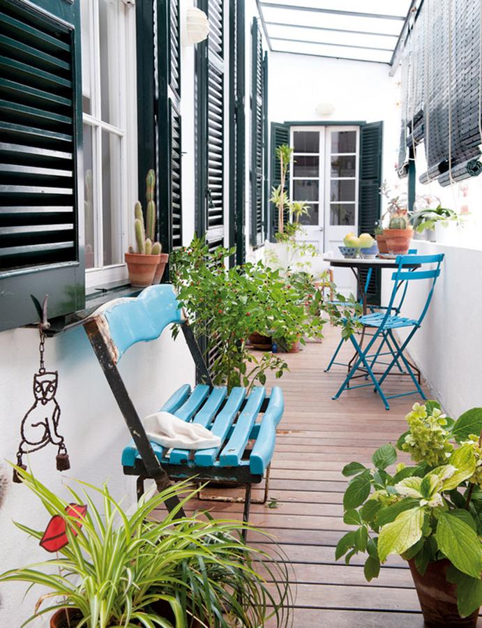 muebles pintados para el verano