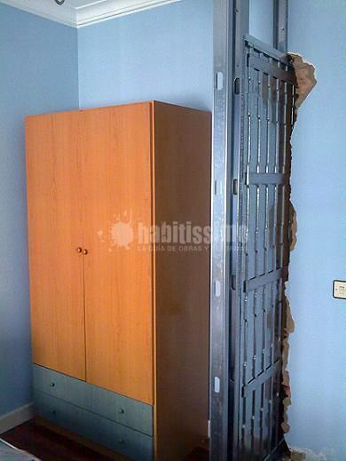 Puerta corredera oculta ideas pladur for Construir puerta corredera