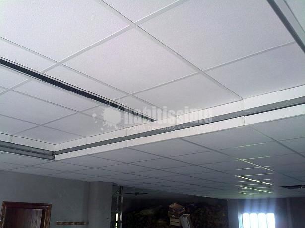 falso techo desmontable a dos alturas ideas pladur